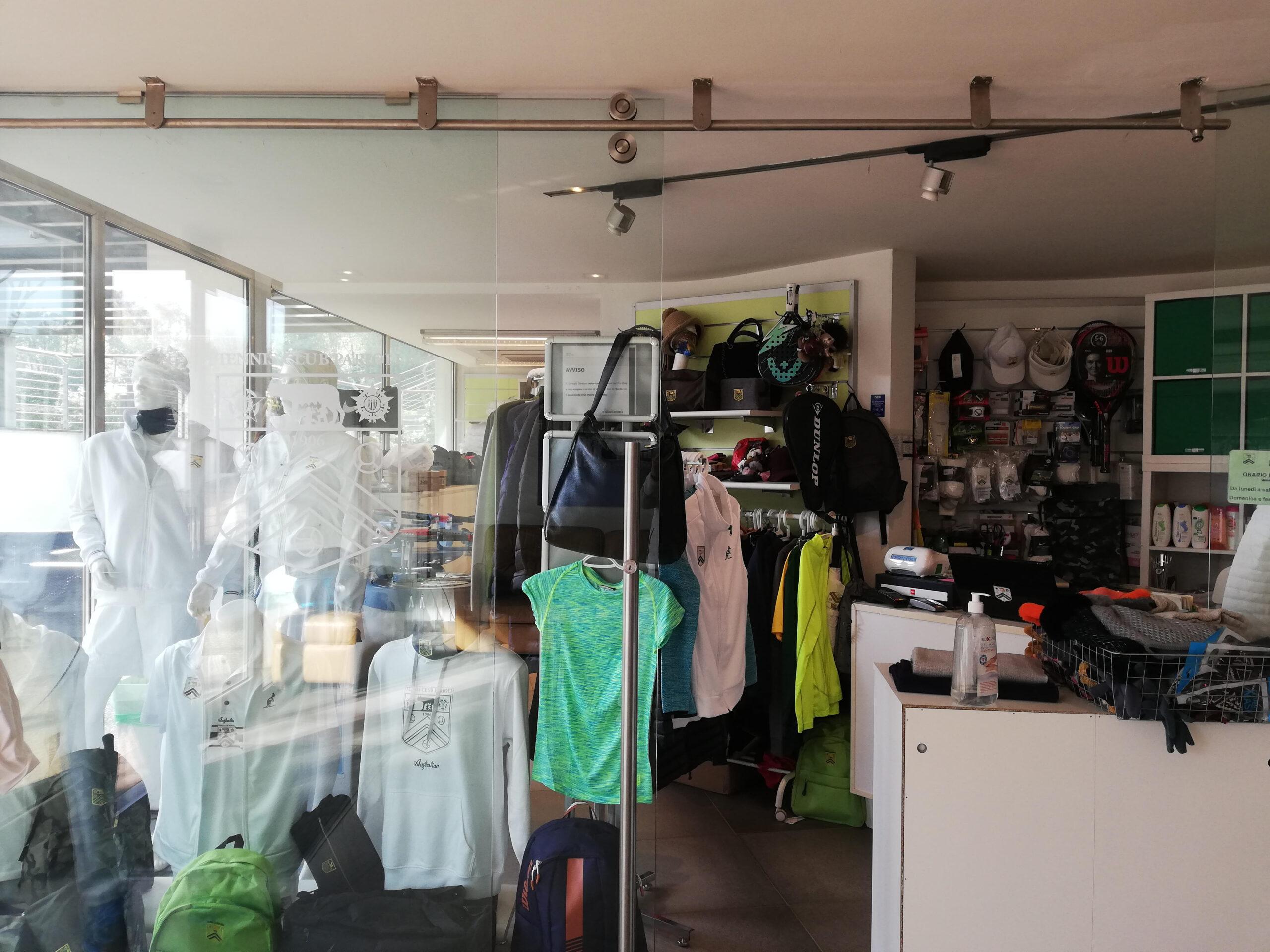 Pro shop Tennis Parioli